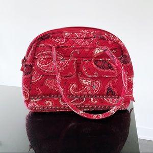 ❤️ Vera Bradley Retired Red Mesa Paisley Bag
